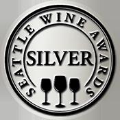 Seattle Wine Awards Double Silver Label